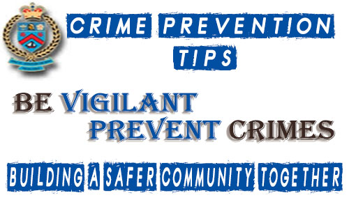 Crime Tips